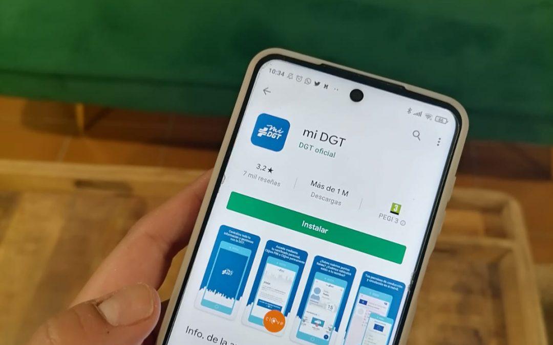 App miDGT: Sácale el máximo partido